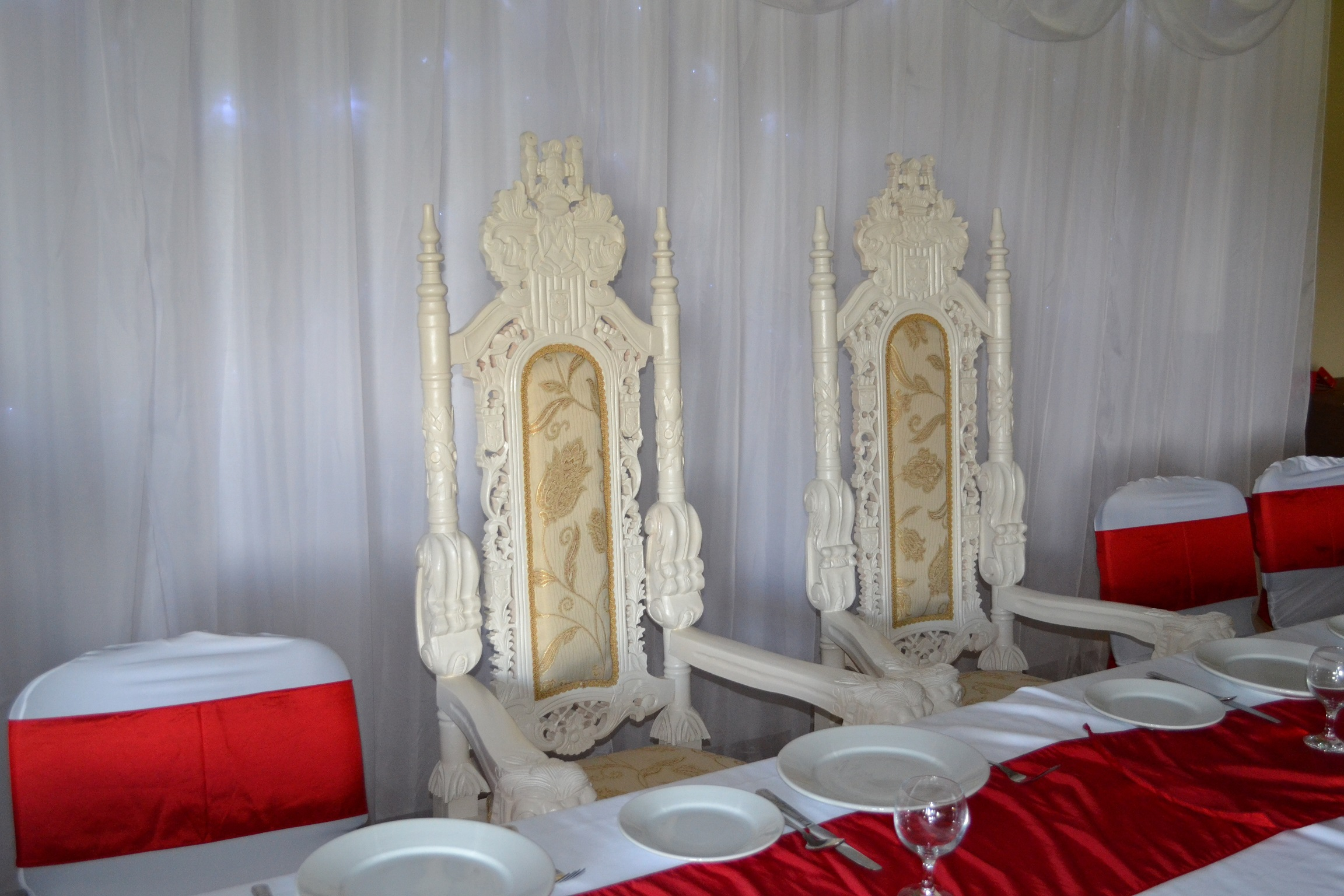 Throne Wedding Chairs