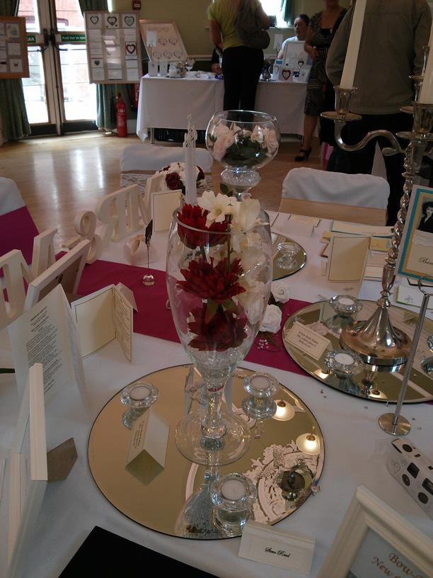Wedding Centre Pieces Giant Wine Gl